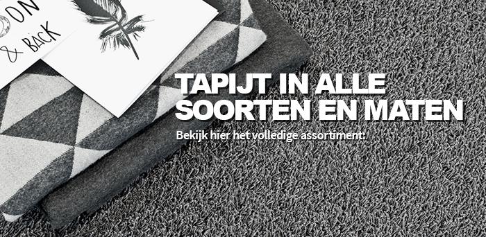 Tapijt - Vloerbedekking - Bestel online uw tapijt vloer op maat.
