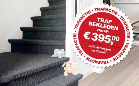 Trapbekleding trap bekleden met vloerbedekking