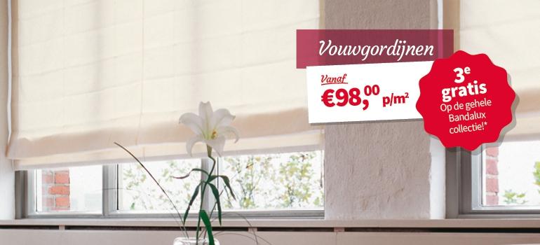 vaak wordt er bij raamdecoratie direct gedacht aan gordijnen maar laat je zeker niet beperken wat dacht je bijvoorbeeld van vouwgordijnen